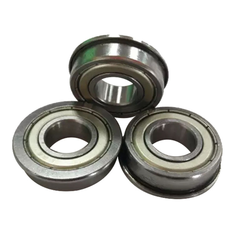 flanged ball bearing