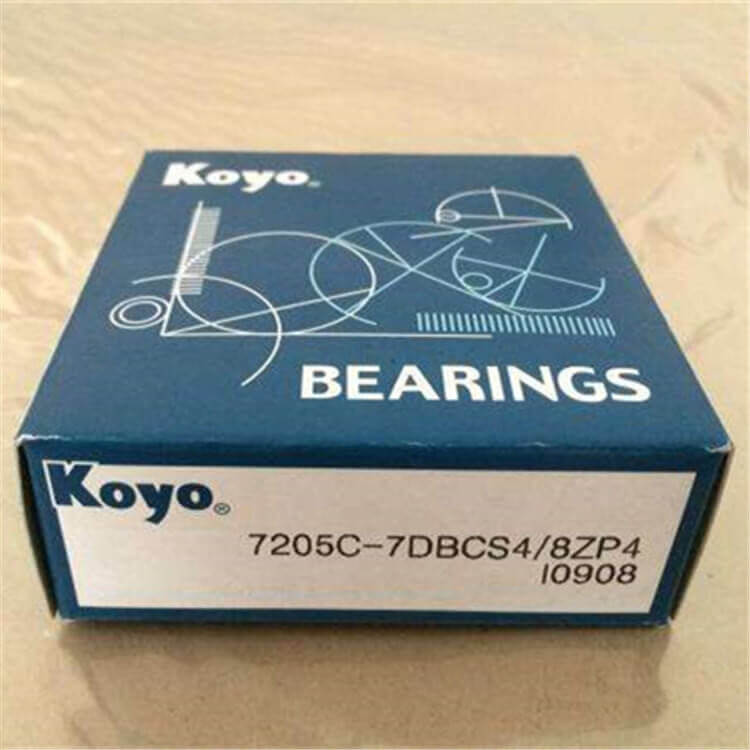 high precision koyo angular contact ball bearing