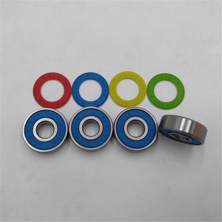 8x22x7mm Bearing High-speed 625 Steel Ball Bearing Open Design Low Maintenance