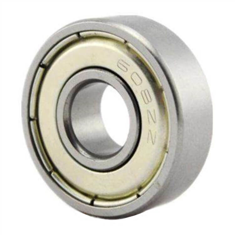 8×22×7mm High-speed 608 Steel Ball Bearing Open Design Low Maintenance