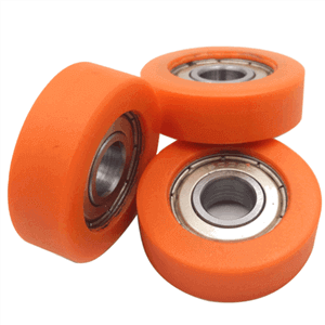 nylon rollers with sealed bearings