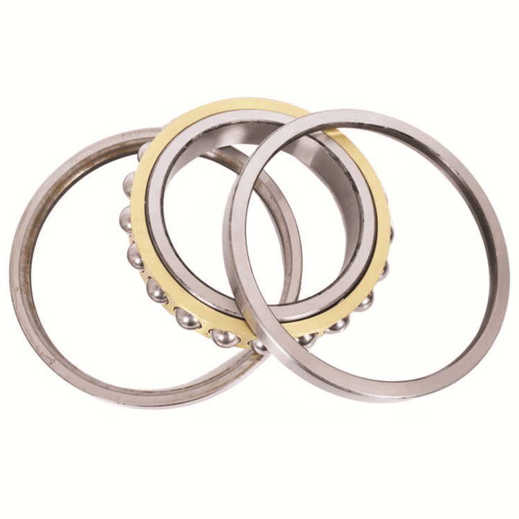 brass cage 4 point angular contact ball bearing