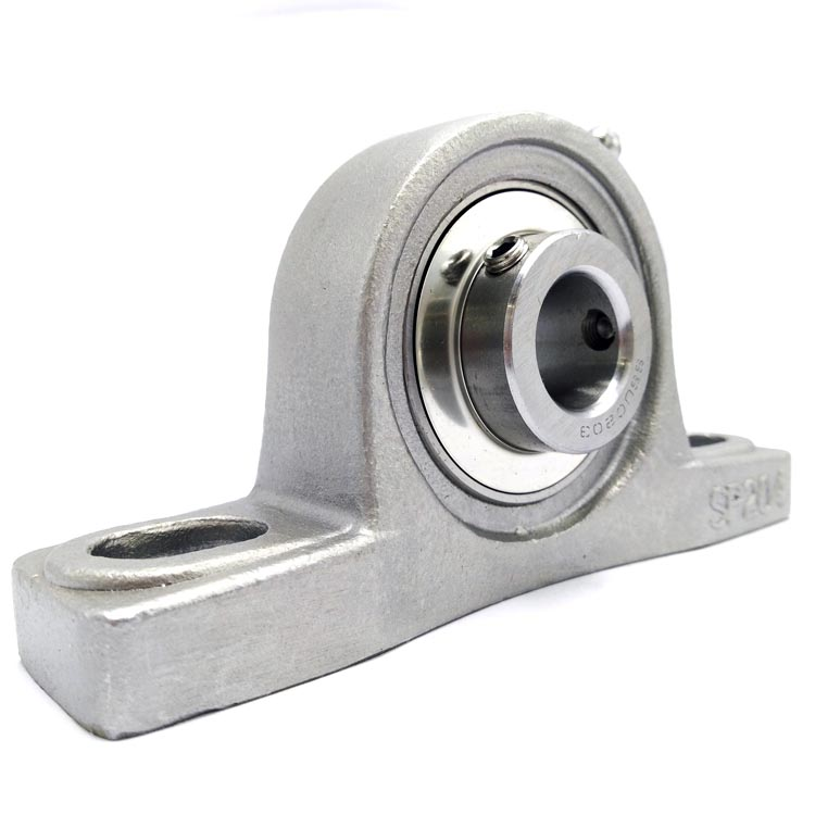 stainless steel pillow block bearing housing with high quality