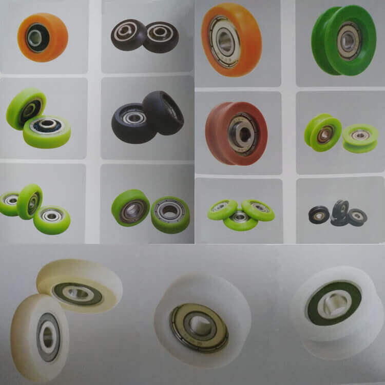 high quality nylon roller bearing wheel