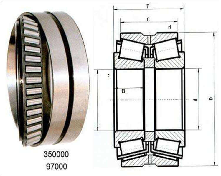 high quality tapered thrust roller bearings