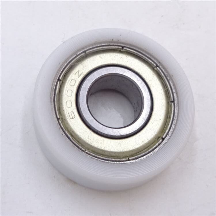 nylon roller bearing wheel with high precision