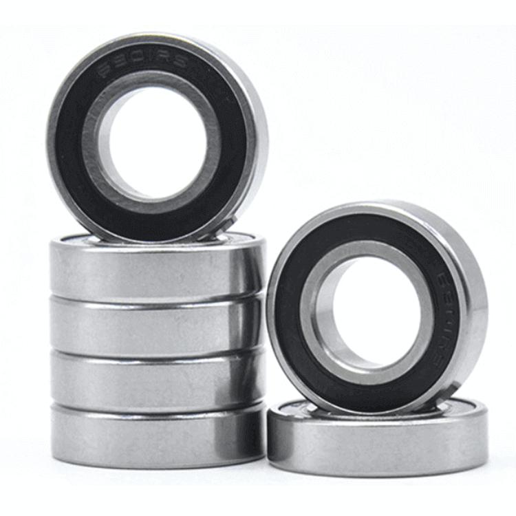 single row radial ball bearings