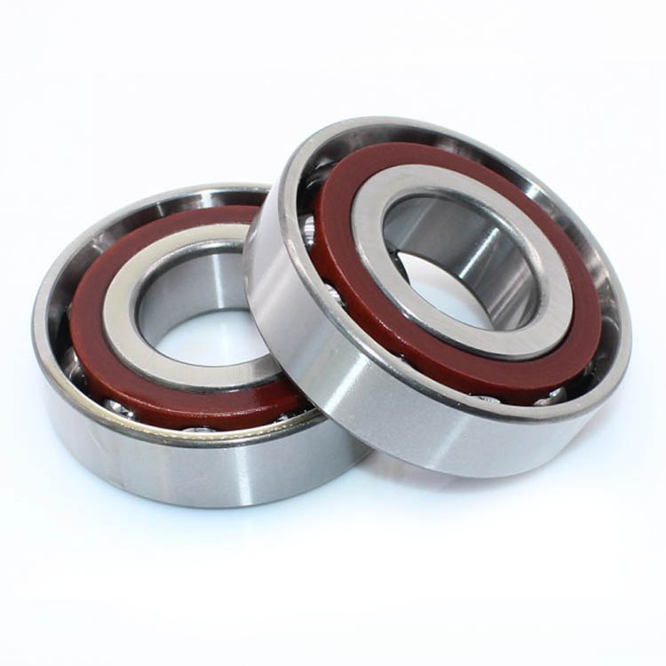 in stock miniature angular contact ball bearing