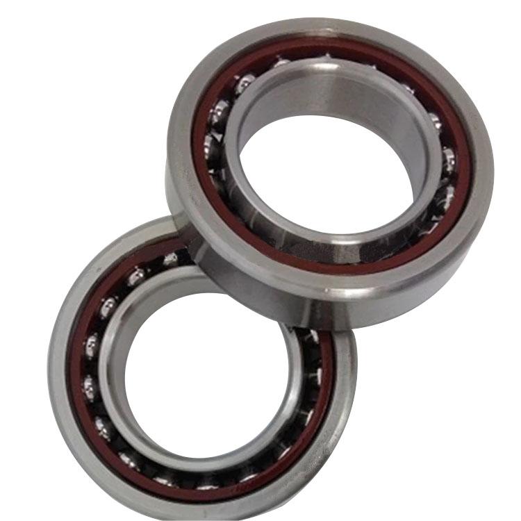 high precision single row angular contact ball bearing