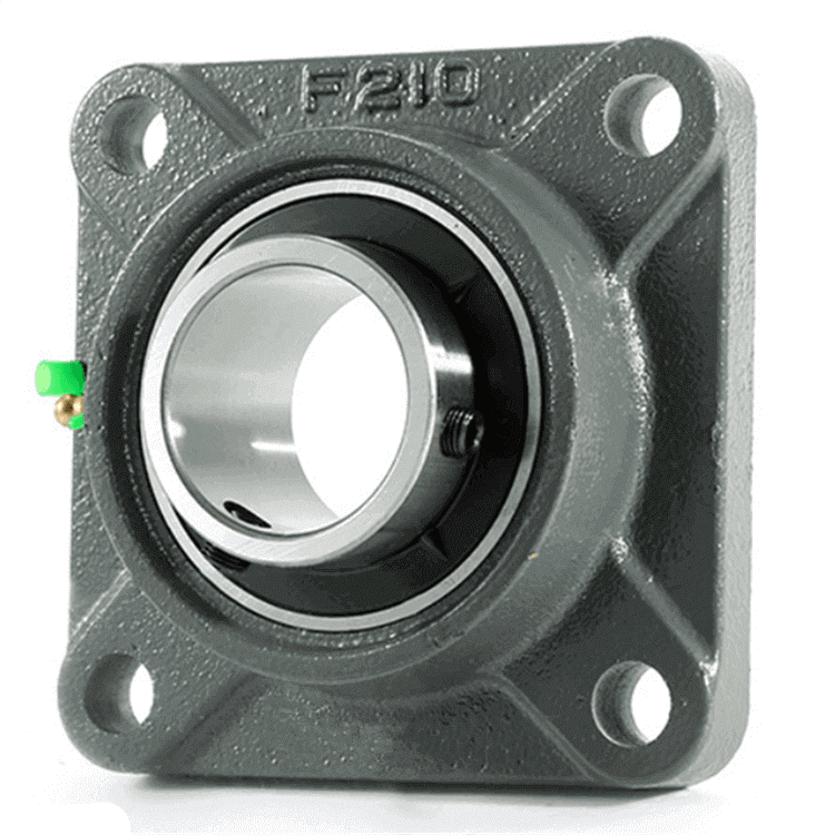 high precision square flange pillow block bearing