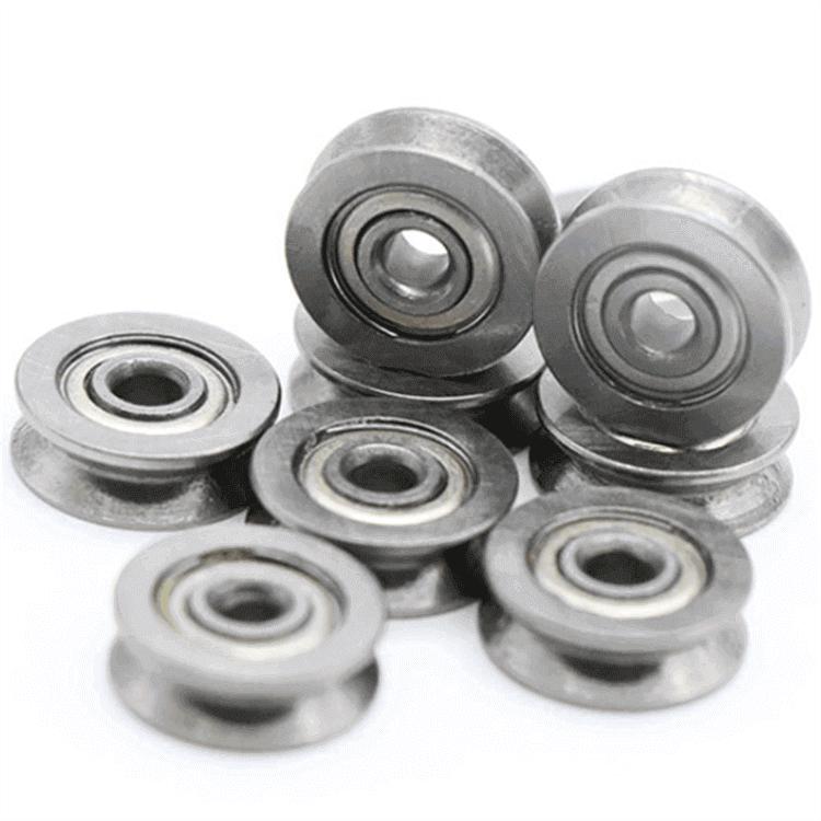 high precision miniature v groove bearings