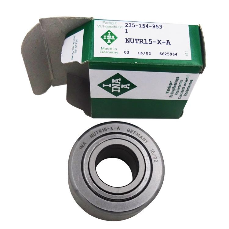 47 mm Roller Diameter NUTR1747 Crowned Yoke Roller Schaeffler 20 mm Roller Width 17 mm Bore INA Sealed