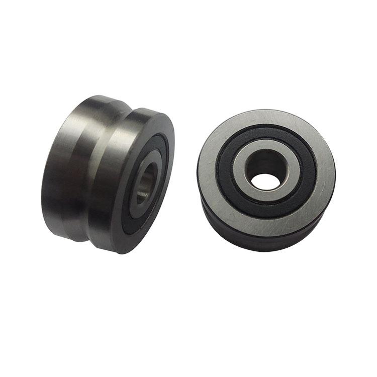 ZYSL cheapvgroovebearings manufacturer LFR 50/5-4 U V W Groove ball bearing 5*16*5mm