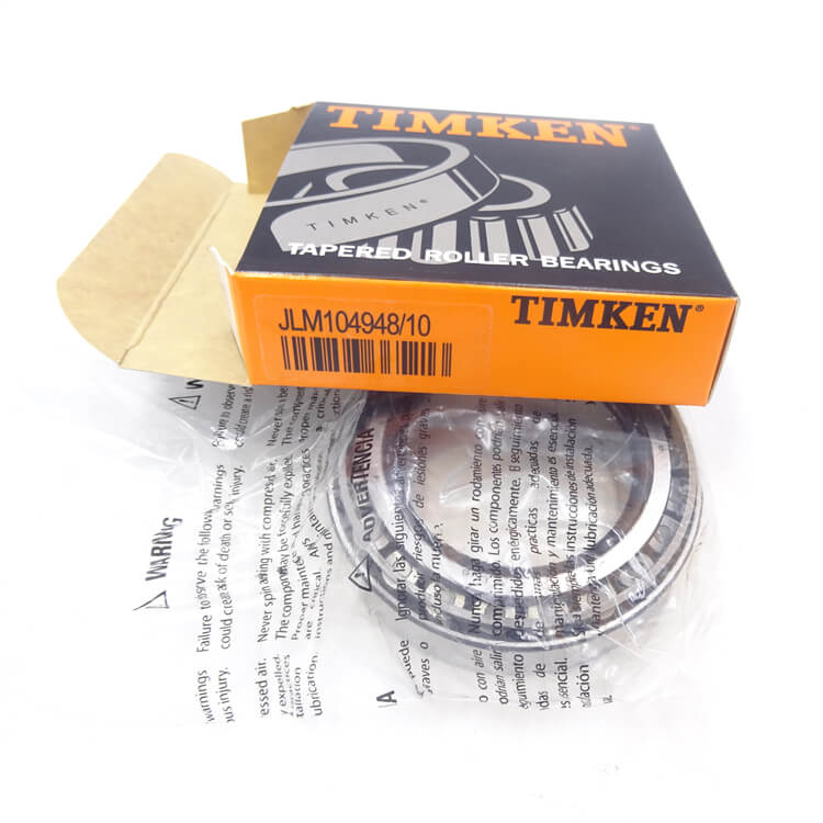 Timken JLM104948/JLM104910 Imperial taper roller bearing priced cup & cone together