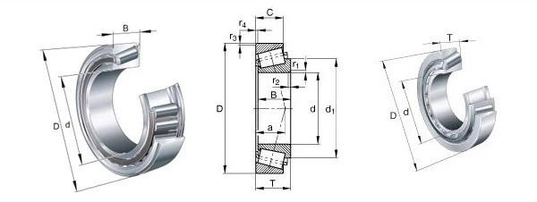 HRB bearing 32220