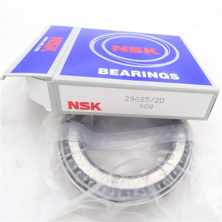 NSK 29685/20 bearing 73.025*112.712*25.4 mm inch tapered roller bearing