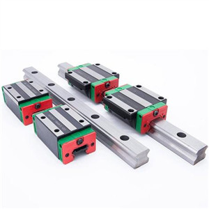 How to install the guide rail bearing?