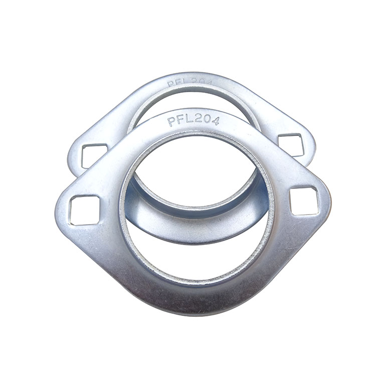 ZYSL pfl204 bearing factory Pressed Steel Flanged Two-Bolt Bearing Housing assembly