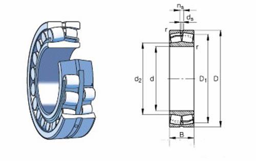 22311CAK/W33 bearing